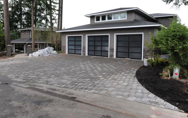 refinishing exterior for garage best tru door how front colors to fiberglass translucent therma doors paint