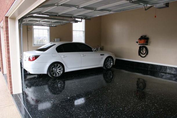 Black Floor Garage