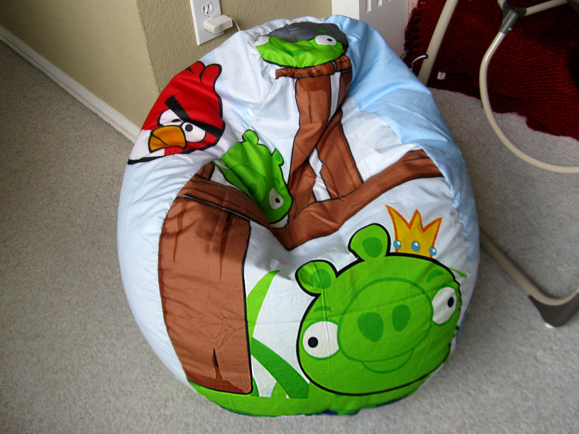 Angry Birds Bean Bag Chair