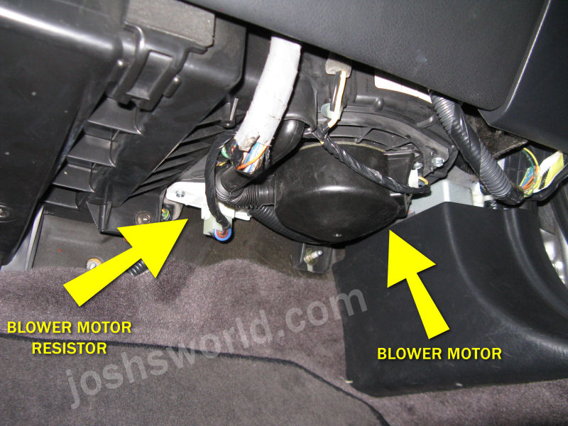 acura tl blower stopped working fix josh s world Ford Truck Wiring Harness Ford Truck Wiring Harness