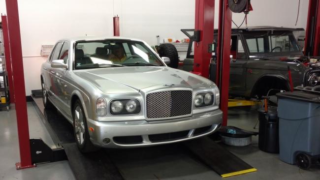 Bentley Arnage Service Schedule Joshs World