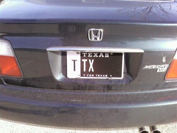 My Plates Texas >> Myplates Com Sends Customers Misprinted License Plates Josh S World