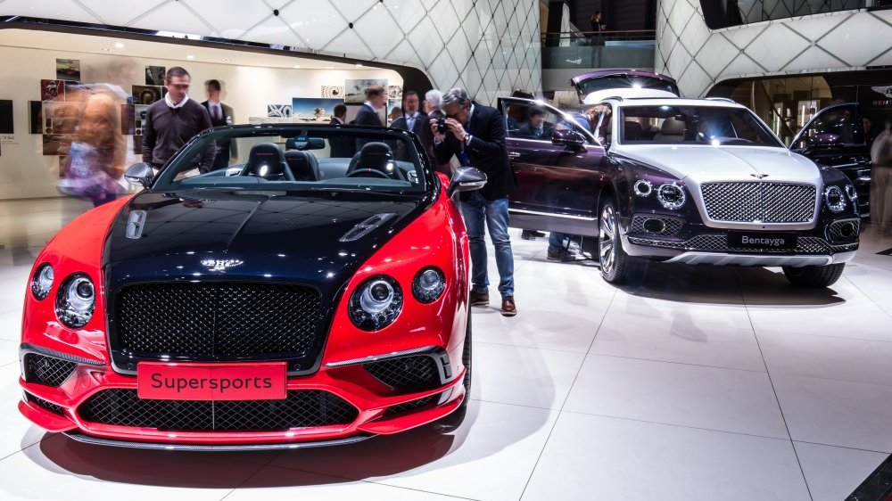 Here Are Some Additional Examples Of Two Toned Paint Schemes On Recent Bentley Cars